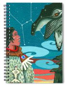 A Study For Whale Dreamer Spiral Notebook