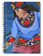 A Study - Lightening Walker Spiral Notebook