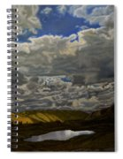 A Summer Day On Cottonwood Pass Spiral Notebook