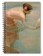 A Summer Morning Spiral Notebook