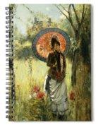 A Summer Stroll Spiral Notebook