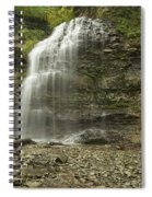 A Summer Walk To Tiffany Falls Spiral Notebook