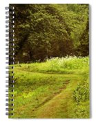 A Summer's Trail Spiral Notebook