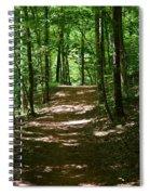 A Summer's Walk Spiral Notebook