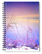A Sunday Sunrise Spiral Notebook