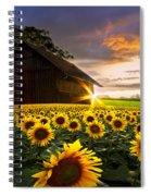 A Sunflower Moment Spiral Notebook