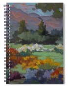 A Sunny Afternoon In Santa Barbara Spiral Notebook