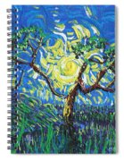 A Sunny Day For The Tree Spiral Notebook