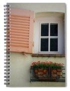 A Sweet Shuttered Window Spiral Notebook