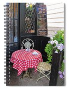 A Table For Two Spiral Notebook