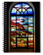 Another Tale Of Windows And Magical Landscapes Spiral Notebook