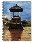 A Temple Spiral Notebook