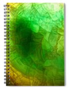 A Thin Slice Of Rock Spiral Notebook