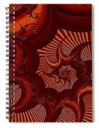 A Thorny Swirl Spiral Notebook