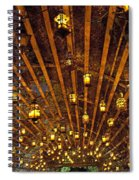 A Thousand Candles - Tunnel Of Light Spiral Notebook