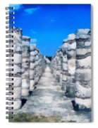 A Thousand Columns Spiral Notebook