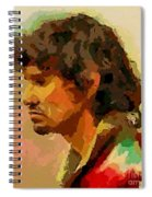 A Tired Fisherman Spiral Notebook