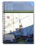 A Tool Shed In The Back Yard Spiral Notebook