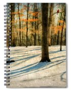 A Touch Of Autumn Spiral Notebook