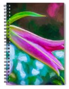 A Touch Of Class 2 - Impasto Spiral Notebook