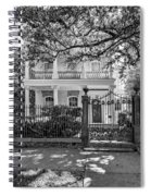 A Touch Of Class Bw Spiral Notebook
