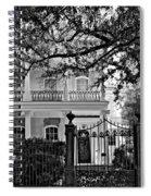 A Touch Of Class Monochrome Spiral Notebook