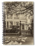 A Touch Of Class Sepia Spiral Notebook