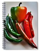 A Touch Of Colour Spiral Notebook