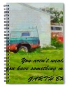 A Touch Of Country Spiral Notebook