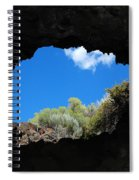 A Touch Of Sky Spiral Notebook