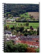 A Town In France Spiral Notebook