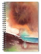 A Tree In Lanzarote Spiral Notebook