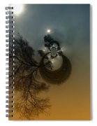 A Tree In The Sky Spiral Notebook