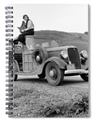 A Trip In The 1930s Spiral Notebook