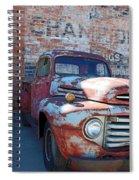 A Truck In Goodland Spiral Notebook