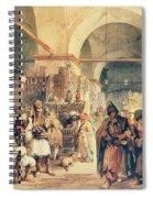A Turkish Bazaar Spiral Notebook