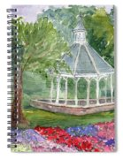 A Turn About The Garden Spiral Notebook