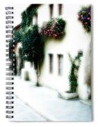 A Tuscan Street Spiral Notebook
