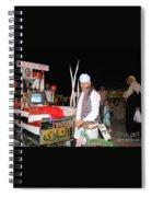 A Vendor In Alexandria Egypt Spiral Notebook