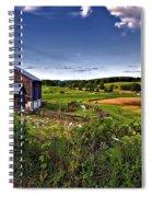 A Verdant Land II Spiral Notebook