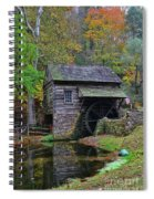 A Very Old Grist Mill Spiral Notebook