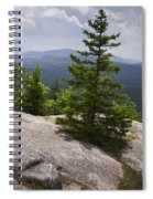 A View From A Mountain In A Vermont State Park Spiral Notebook