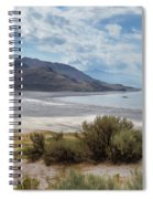 A View From Buffalo Point Of White Rock Bay Spiral Notebook