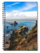 A View From Ecola State Park Spiral Notebook