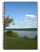 A View From Mount Vernon Spiral Notebook