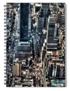 A View From The Empire State Building Spiral Notebook