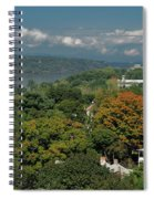 A View From The Hudson River Walkway Spiral Notebook