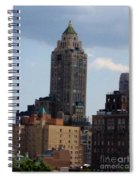 A View From The Met Rooftop Garden Spiral Notebook
