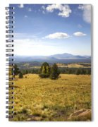A View From The Peaks  Spiral Notebook
