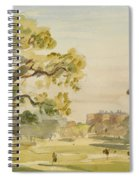 A View Of Chirk Castle, 1916 Spiral Notebook